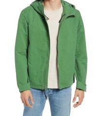 men's rag & bone tactic hooded jacket, size xx-large - green