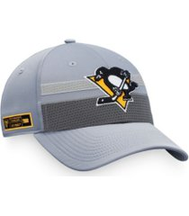 authentic nhl headwear pittsburgh penguins second season adjustable cap