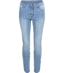 jeans skinny con bande laterali (blu) - rainbow