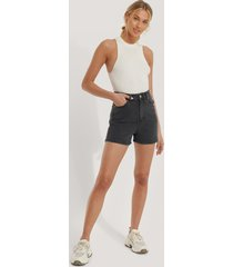 trendyol mom-shorts - grey