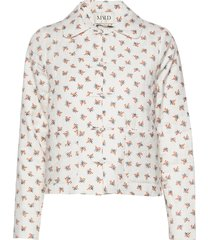 quilted prarie jacket zomerjas dunne jas crème maud