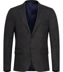 bs calabrien slim blazer colbert groen bruun & stengade