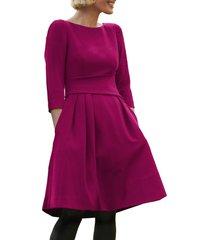 women's harper rose waist detail fit & flare dress