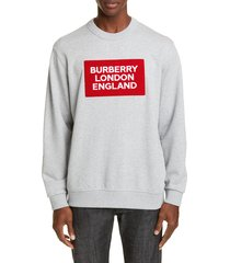 men's burberry fetchford crewneck sweatshirt