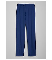 1905 navy collection tailored fit flat front men's suit separate pants - big & tall by jos. a. bank
