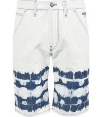 msgm denim side logo jeans