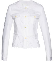 giacca con ricami premium (bianco) - bpc selection premium