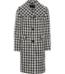 cappotto a quadri (nero) - bodyflirt