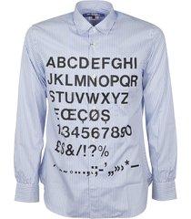 junya watanabe stripe printed shirt