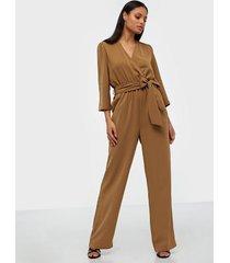 selected femme slfjill 3/4 jumpsuit ex jumpsuits