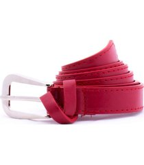 cinturón rojo carven