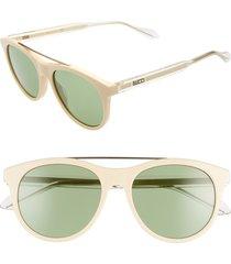 men's gucci 54mm aviator sunglasses -