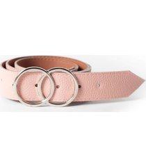 cinturón rosa la vie est belts