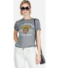 capri iggy pop wild one - xl heather grey