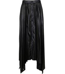 isabel marant black viscose davies skirt