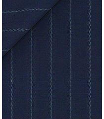 pantaloni da uomo su misura, vitale barberis canonico, icon gessato blu, quattro stagioni   lanieri