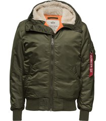 ma-1 hooded bomberjack jack groen alpha industries