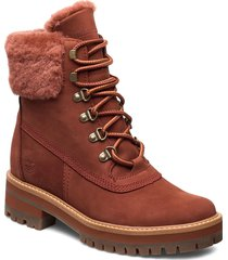 courmayeur valley wp 6in shoes boots ankle boots ankle boot - flat brun timberland
