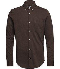 sean jersey bd 3382 overhemd casual bruin nn07