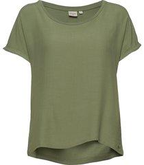 helenecr t-shirt t-shirts & tops short-sleeved grön cream