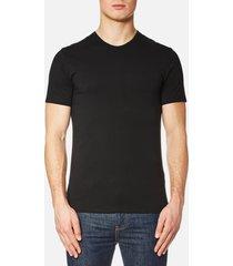 calvin klein men's 2 pack crew neck t-shirt - black - xl