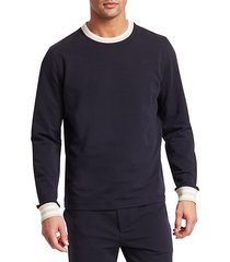 modern french terry sweatshirt