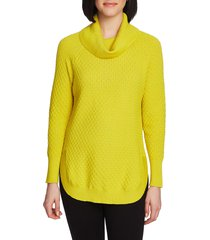 women's chaus cowl neck sweater