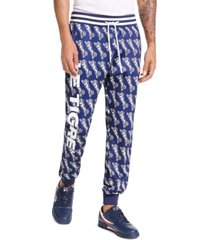 le tigre men's avery slim-fit logo graphic track pants