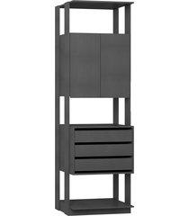 estante armário/gaveteiro expresso be mobiliário