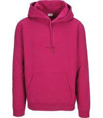 saint laurent classic logo hoodie