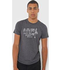 camiseta malwee havana grafite