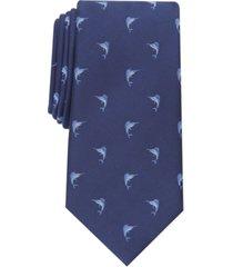 club room men's jumping swordfish slim tie, created for macy's