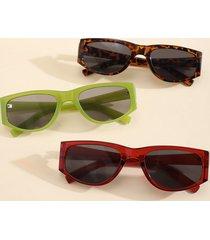 1 pieza de gafas de sol de leopardo