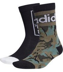 strumpor graphic crew socks 2-pack