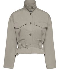 airietta lyocell cropped jkt zomerjas dunne jas beige french connection