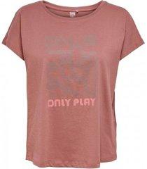 t-shirt korte mouw only play camiseta manga corta mujer 15217750