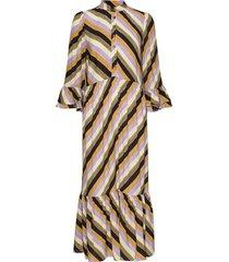 pztina dress knälång klänning multi/mönstrad pulz jeans