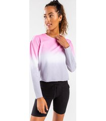 gianna ombre pullover - blush