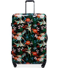 "jessica simpson sweet birds 25"" spinner suitcase"