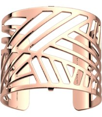 les georgettes by altesse geometric openwork wide adjustable cuff bracelet, 40mm, 1.6in