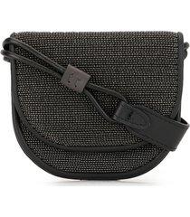 brunello cucinelli molili micro shoulder bag - black