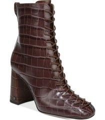 sam edelman women's carney lace-up booties women's shoes