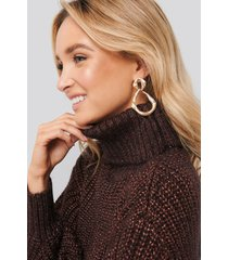 mango chewy sweater - brown