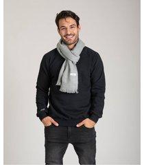 bufanda gris brooksfield mantón liso