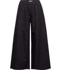 bridget trousers wijde broek zwart stylein