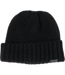 saint laurent hat bonnet uni maill