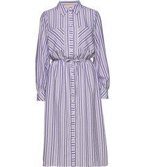 salamancakb dress knälång klänning lila karen by simonsen