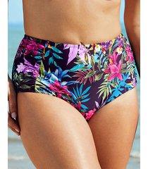 rio tropical high waist tummy control bikini bottom