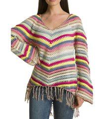sweater crochet verde rockford