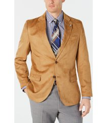 nautica men's modern-fit faux-suede sport coat